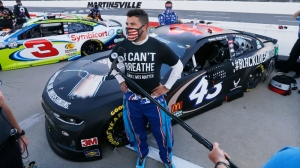 Official Twitter Sports Account Changes Look To Support Bubba Wallace
