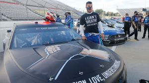Bubba Wallace's Girlfriend Posts Powerful Message Following Noose Incident