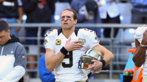Why Drew Brees Still Doesn't Agree With Kneeling During National Anthem