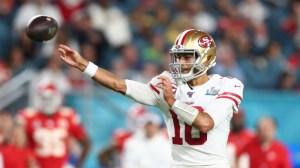 Jimmy Garoppolo Has Simple Outlook On 49ers Debating Tom Brady Pursuit
