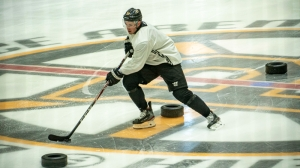 Watch Highlights From Bruins' Voluntary Workout With Zdeno Chara, John Moore