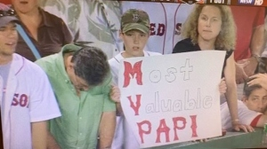 NESN Fans' Choice Winner Held 'Most Valuable Papi' Sign For David Ortiz's Heroics