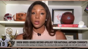 ESPN's Maria Taylor Calls Out Drew Brees With Very Passionate Message