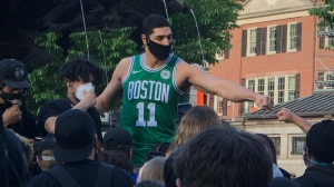 VA Hero Of The Week: Celtics Players March In Peaceful Boston Protests