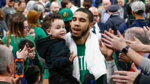 Jayson Tatum Donates $1 Million In Diapers To St. Louis Children In Need