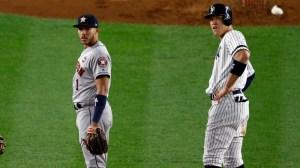 Carlos Correa Mocks Aaron Judge After Yankees Get Accused Of Sign Stealing