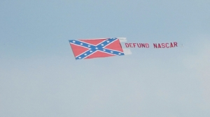 Group That Flew 'Defund NASCAR' Banner Over Talladega Might Do It Again