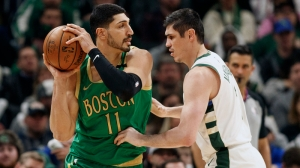 Celtics' Enes Kanter Calls Out Nick Wright For Predicting Bucks Will Make Finals