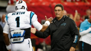 Ron Rivera Explains Why People Shouldn't Bet Against Cam Newton, Patriots