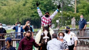 Watch Tiz The Law Claim Victory In Thrilling End To 2020 Belmont Stakes