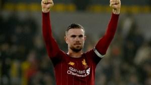 Jordan Henderson Wins FWA Footballer Of The Year Award For 2019-20