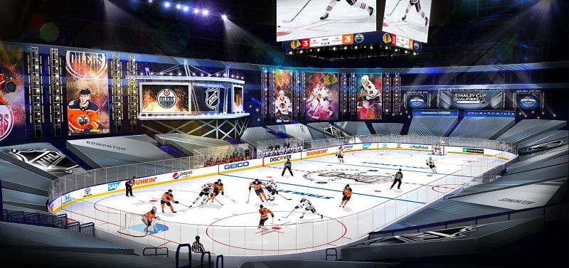 NHL Return To Play Arena