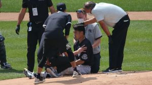 Aaron Boone Says Masahiro Tanaka 'Dodged A Bullet' After Getting Hit By Line Drive