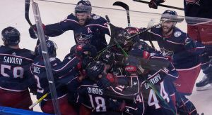 Pierre-Luc Dubois's Hat Trick Caps Maple Leafs' Latest Epic Playoff Collapse