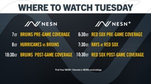 How To Watch Bruins, Red Sox Live Programming Wednesday On NESN, NESN+