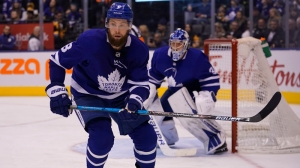 Jake Muzzin Suffers Scary Injury In Final Minutes Of Maple Leafs-Blue Jackets Game