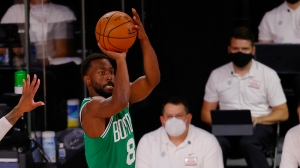 Watch Kemba Walker Hit Half-Court Shot At Buzzer For Celtics Vs. Heat