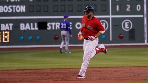 Watch Mitch Moreland Clobber Fifth Home Run Of Season Vs. Blue Jays