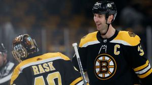 Zdeno Chara Doesn't Sound Concerned With Tuukka Rask's 'Exhibition' Comments