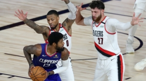 Damian Lillard Sounds Off On Clippers' Paul George, Patrick Beverly