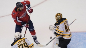Bruins Drop Round-Robin Finale As Capitals Fend Off Late-Game Push