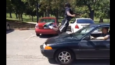 Misguided Man Tries To Recreate Kobe Bryant S Jump Over Car Which Was Fake Video Nesn Com