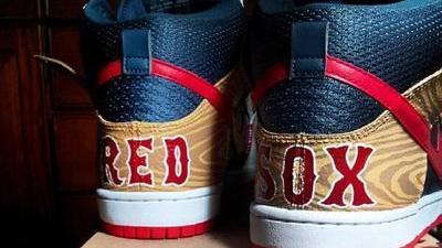 Shane Victorino's Custom Red Sox