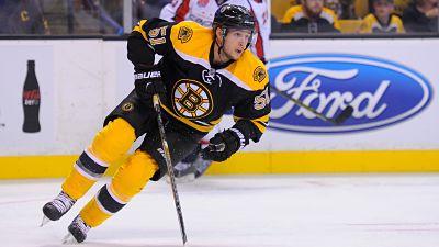 Boston Bruins center Ryan Spooner