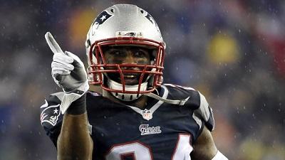New England Patriots cornerback Darrelle Revis