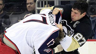 Sidney Crosby-Brandon Dubinsky Fight
