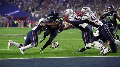 Seahawks running back Marshawn Lynch