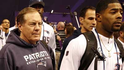 Bill Belichick and Malcolm Butler