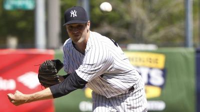 New York Yankees reliever Andrew Miller