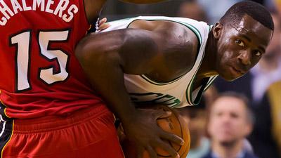 Boston Celtics forward Brandon Bass