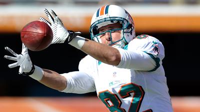 Browns wide receiver Brian Hartline