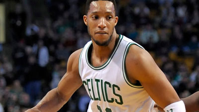 Boston Celtics guard Evan Turner