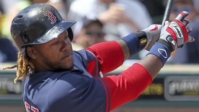 Boston Red Sox outfielder Hanley Ramirez