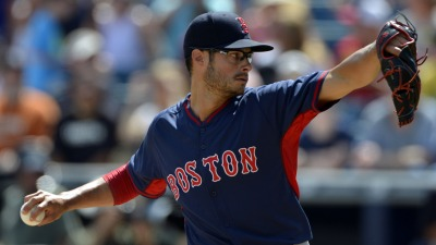 Boston Red Sox pitcher Joe Kelly