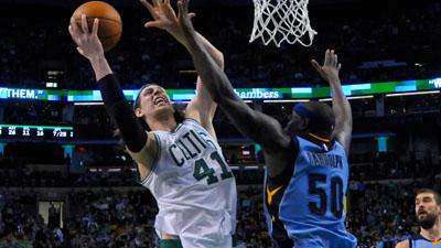 Celtics center Kelly Olynyk