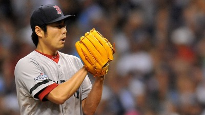 Boston Red Sox closer Koji Uehara