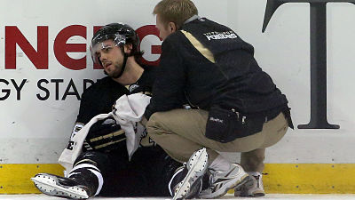 Penguins forward Kris Letang