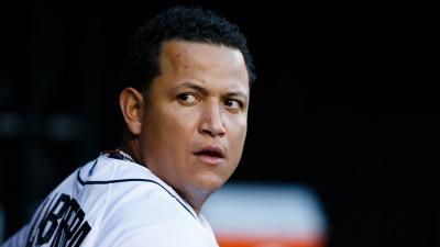 Detroit Tigers slugger Miguel Cabrera