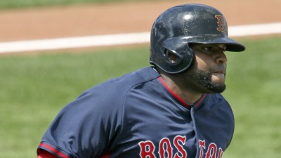 Boston Red Sox third baseman Pablo Sandoval