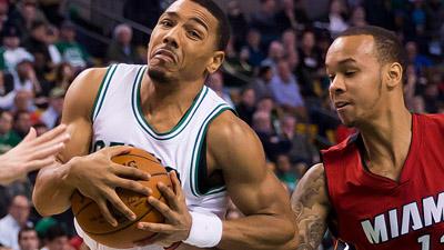 Boston Celtics guard Phil Pressey