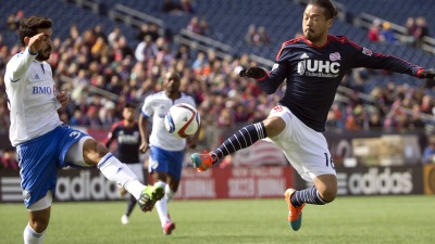 New England Revolution midfielder Daigo Kobayashi