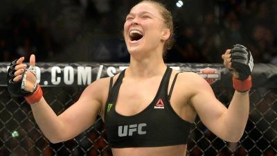 Ronda Rousey wins UFC 184