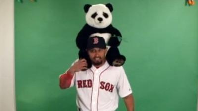 Boston Red Sox outfielder Shane Victorino