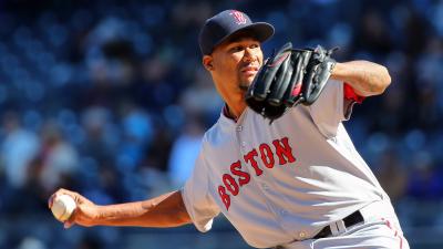 Boston Red Sox pitcher Alexi Ogando