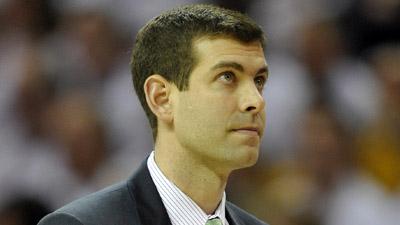 Boston Celtics coach Brad Stevens