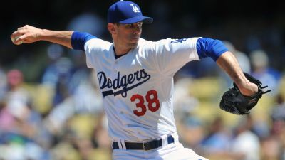 Dodgers pitcher Brandon McCarthy
